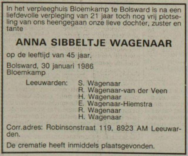 A.S. Wagenaar