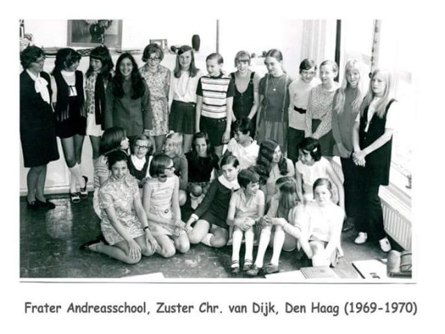Frater Andreasschool Den Haag (6e klas 1970)