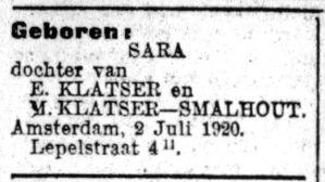 Sara of Sera?
