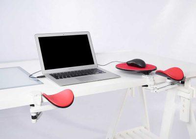 Ergorest ergonomische armsteunen 330.040-350.040, Ergorest forearm supports, Ergorest-Unterarmstützen, Les appuie-bras Ergorest
