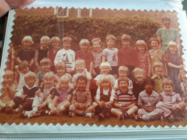 Klassenfoto begin jaren 80