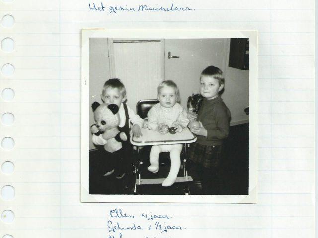 Johan, Gelinde en Ellen Muizelaar
